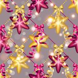 Muster des neuen Jahres mit Ball Kann als Gruß-Karte oder Abdeckung verwendet werden Stockbilder