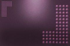 Muster des purpurroten Metallhintergrundes Stockbild