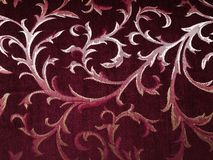 Muster des roten Teppichs stockbilder