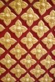 Muster des schönen siamesischen Anstriches Lizenzfreies Stockbild