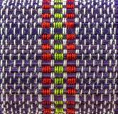 Muster des Strickens des schönen Farbseils lizenzfreie stockfotografie