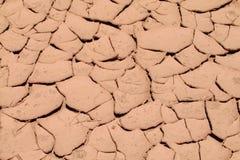 Muster des trockenen Bodens Lizenzfreies Stockbild