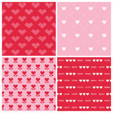Muster des Valentinstag-Herz-4 Stockfoto