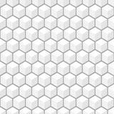 Muster des Vektors 3d Nahtloser Hintergrund Lizenzfreie Stockbilder