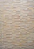 Muster des weißen modernen Ziegelsteines Stockbild