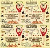 Muster des Zirkusses Lizenzfreies Stockfoto