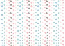 Muster-Designbeschaffenheit der Punkte bunte; grafisches dekoratives für Tapete und Hintergrund Lizenzfreie Stockfotos