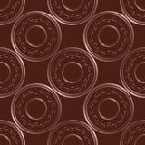 Muster-Designschablone des Vektors nahtlose Stockbilder