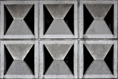 Muster einer Betonmauer Lizenzfreies Stockbild
