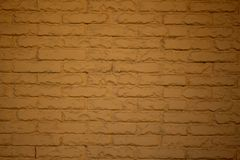 Muster einer schönen Backsteinmauer des hellbraunen Ziegelsteines Stockfotos