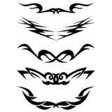 Muster Entwurf tätowierung Lizenzfreies Stockbild