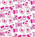 Muster für Mädchen Lizenzfreie Stockbilder