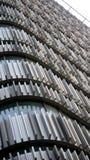 Muster, Fassade des Metalls Lizenzfreies Stockbild