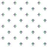 Muster Fleur-De-lis Stockfotografie
