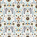 Muster-Folklore motives-2 Lizenzfreies Stockfoto