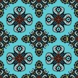 Muster-Geschenkverpackung der nahtlosen Fliesen ethnische  Stockfoto