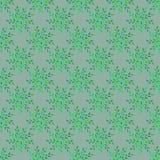 Muster-Grauhintergrund des Blattes nahtloser Stockfoto