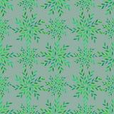 Muster-Grauhintergrund des Blattes nahtloser Lizenzfreie Stockfotografie