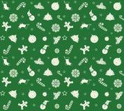 Muster-guten Rutsch ins Neue Jahr Lizenzfreies Stockbild
