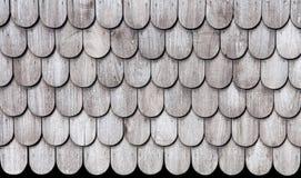 Muster hölzerner thailändischer Art roofs.old. Lizenzfreie Stockbilder