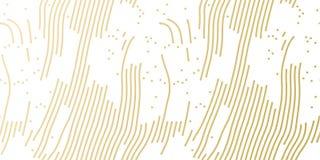 Muster-Hintergrundschablone des Weihnachtsfeiertags goldene für Grußkarten- oder -geschenkpackpapierdesign Vektorgoldzusammenfass Lizenzfreie Stockbilder