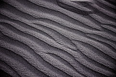 Muster im Sand Stockfoto