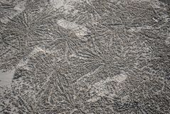Muster im Sand lizenzfreie stockfotografie