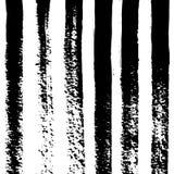 Muster-Linien und Bürsten-Anschläge lizenzfreie abbildung