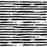 Muster-Linien und Bürsten-Anschläge stock abbildung