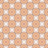Muster mit abstraktem Mandalaelement Lizenzfreie Stockbilder