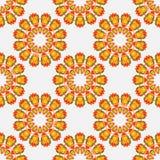 Muster mit abstraktem Mandalaelement Stockfotografie