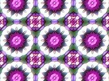 Muster mit abstrakter dekorativer Mosaikverzierung lizenzfreie stockfotos