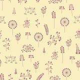 Muster mit Beeren Lizenzfreie Stockbilder