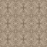 Muster mit Blättern Lizenzfreie Stockfotos