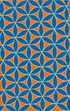Muster mit Blumen Stockbild