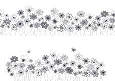 Muster mit Blumen Lizenzfreies Stockbild