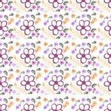 Muster mit Blumen Lizenzfreies Stockfoto