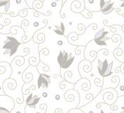 Muster mit Blumen Stockfotografie