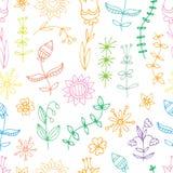 Muster mit Blumen Lizenzfreie Stockfotos