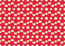Muster mit Blumen und Basisrecheneinheiten Lizenzfreie Stockfotos