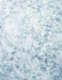 Muster mit chaotischen Pixeln auf weißem Hintergrund Stockbild