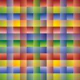 Muster mit den Überfahrt-Zeilen - mehrfarbig lizenzfreie abbildung