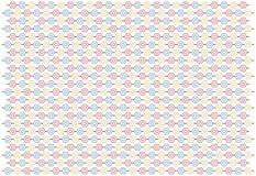 Muster mit den Pentagonen, abstrakt Lizenzfreie Stockfotos