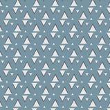 Muster mit Dreieck Stockfotografie
