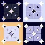 Muster mit Elementen der Raute Lizenzfreie Stockfotografie