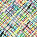 Muster mit farbigen Streifen lizenzfreie stockbilder