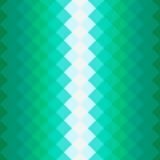 Muster mit grünen Quadraten Lizenzfreie Stockfotos