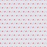 Muster mit großem und Bällchen auf hellgrauem Hintergrund Stockfoto