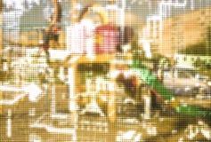 Muster mit Kreisen Lizenzfreie Stockbilder