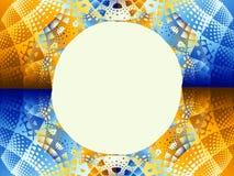 Muster mit leerem Kreis Lizenzfreie Stockfotografie